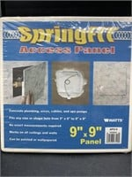 2 9x9in springfit access panels