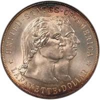 $1 1900 LAFAYETTE. PCGS MS65 CAC