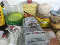 Waxes, Finishes, Polish, and more.