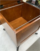 788 - BEAUTIFUL SOLID WOOD FILE CABINET