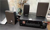 788 - YAMAHA RECEIVER & SPEAKERS