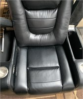 C -NEW THEATER SEATING W/ CUP HOLDERS - NEEDS PLUG
