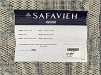 C - NEW SAFAVIEH 8X10 BLUESTONE/TAUPE AREA RUG (9)