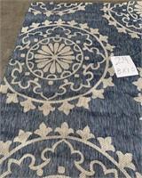 C - NEW SAFAVIEH BLUE/TAUPE 8X10 AREA RUG (24)