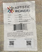 C - NEW ARTISTIC WEAVERS 8X10 AREA RUG (30)