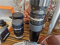342 - HUGE LOT OF CAMERA & ACCESSORIES