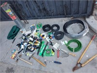 26 - LOT OF GARDENING TOOLS & ACCESSORIES