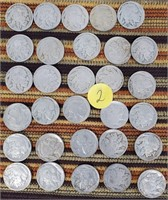 50 - LOT OF 30PC INDIAN HEAD NICKLES (2)