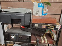 11 - CART FULL OF ELECTRONICS - CART NOT INCLUDED!