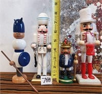 788 - LOT OF NUTCRACKERS & MORE