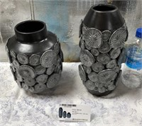 43 - NEW WMC 3PC SET OF CERAMIC VASES ($69.95)