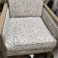 43 - NEW WMC LANGLEY UPHOLSTERED CHAIR ($229.95)