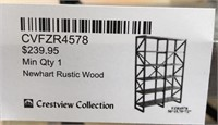 43 - NEW WMC NEWHART RUSTIC WOOD SHELF ($239.95)