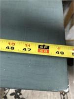 43 - NEW WMC TEAL 2 DOOR CABINET ($259.95)