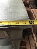 43 - NEW 3 DRAWER MINT BOOKSHELF CONSOLE ($479.95)