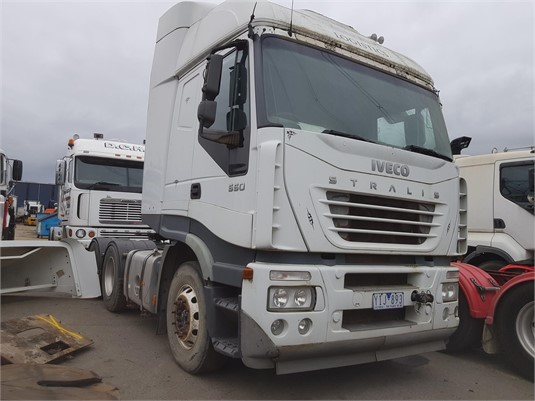 2005 Iveco Stralis 550 - Wrecking for Sale