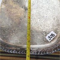 348 - LOT OF 6 SILVER PLATED DISHES - SEE PICS