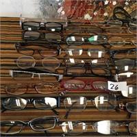 26 - HUGE LOT OF GLASSES - SEE PICS