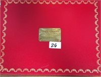 26 - RED CARTIER BOX