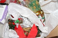 VINTAGE & OTHER XMAS ITEMS, SOME HANDMADE SOME NEW