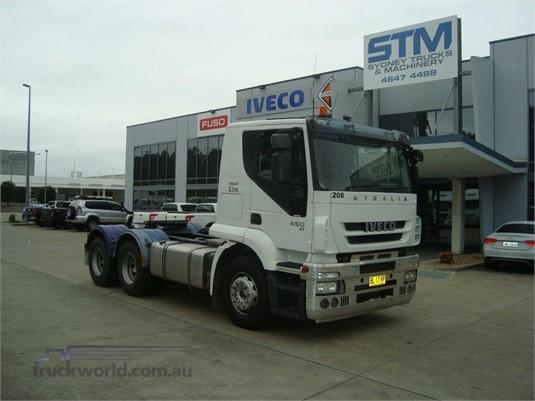 2011 Iveco Stralis ATi450 - Trucks for Sale