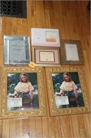 LOT OF PIC FRAMES, SOME BRAND NEW