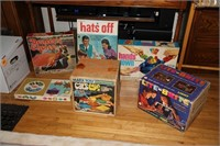 COLLECTOR'S LOT OF 6 VINTAGE GAMES