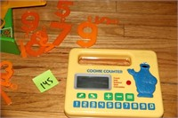 COLLECTOR'S FISHER PRICE COOOKIE COUNTER AND SCALE