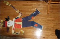 VINTAGE KIDS PARTY ITEMS, HANGING CHARACTERS, ETC