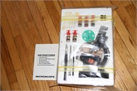 KIDS MICROSCOPE SET, EXCELLENT CONDITION