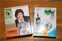 2 UNIDEN PHONE SETS, LIKE NEW