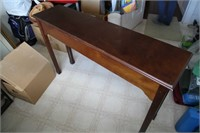 BOMBAY CO, SOLID WOOD ENTRANCE/SOFA TABLE