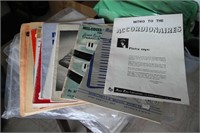 ACCORDION BOOKS, INSTRUCTIONAL & OTHER