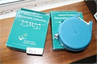 NEW 2 PACKS - RETRACTABLE CLOTHESLINE HOME/COTTAGE