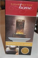 SLATE TOWER FOUNTAIN WITH LED LIGHT, BRAND NEW