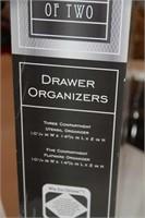 BRAND NEW - 2 DRAWER ORGANIZERS