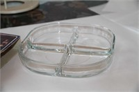 2 ITEMS - BOWRING SALAD BOWL, APPETIZER TRAY ITALY