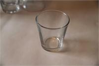 4 BEER GLASSES, 3 STELLA ARTOIS, 12 JUICE GLASSES