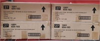 (4) NEW BOXES, 16 LIGHTS ECOSMART SOFT WHITE 65W