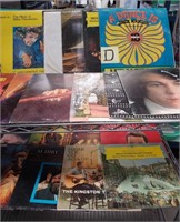 11 - LOT OF RECORDS - CART NOT INCLUDED!