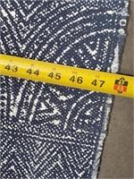 43 - NEW WMC BLUE AREA RUG