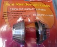 179 - PAIR OF FINE RESIDENTIAL DOOR LOCKS