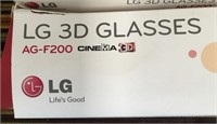 11 - LOT OF 2 BOXES OF 3-D LG GLASSES