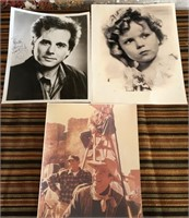 11 - LOT OF 3 COLLECTABLE PHOTOS