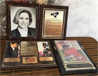11 - LOT OF 3 WALL PLAQUES - SEE PICS