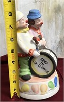 11 - ADORABLE SEND IN THE CLOWNS FIGURINE