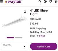 HONEYWELL LED 4' LINKABLE SHOP LIGHT