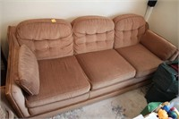 SKLAR PEPPLER, COUCH-QUEEN BED-PULL OUT, LIGHT USE
