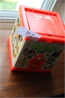 COLLECTOR'S FISHER PRICE JACK-IN-THE-BOX, 1970S