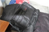 LOT OF 13 BAGS - LAPTOP, GYM, TRAVEL BAGS